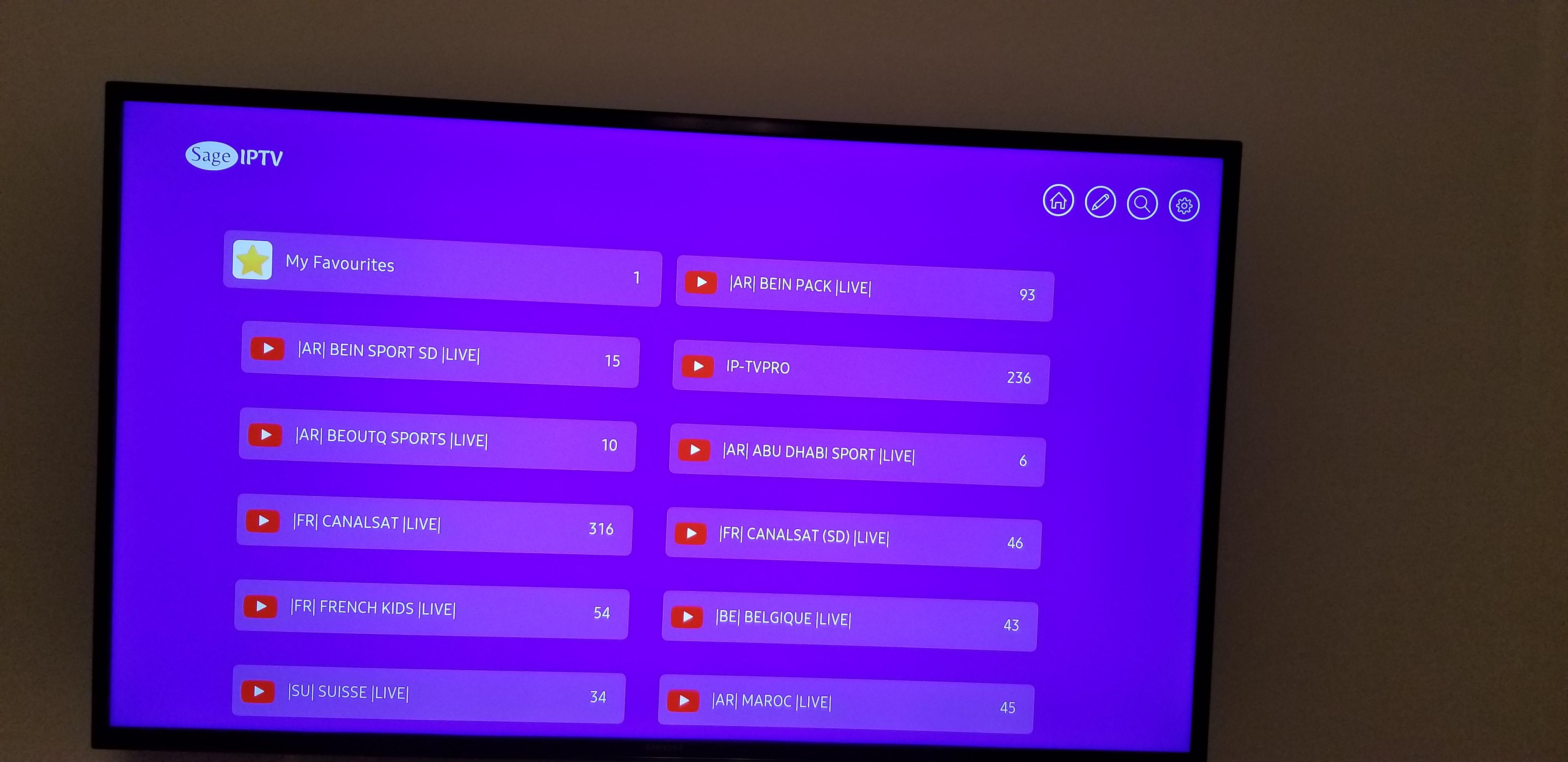 Samsung Smart TV | SageIPTV